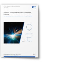 Whitepaper: Advanced Control Technology for Laser Material Processing